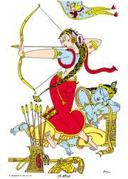 Satyabhama&Krishna