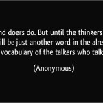 Indians are Talkers not Doers