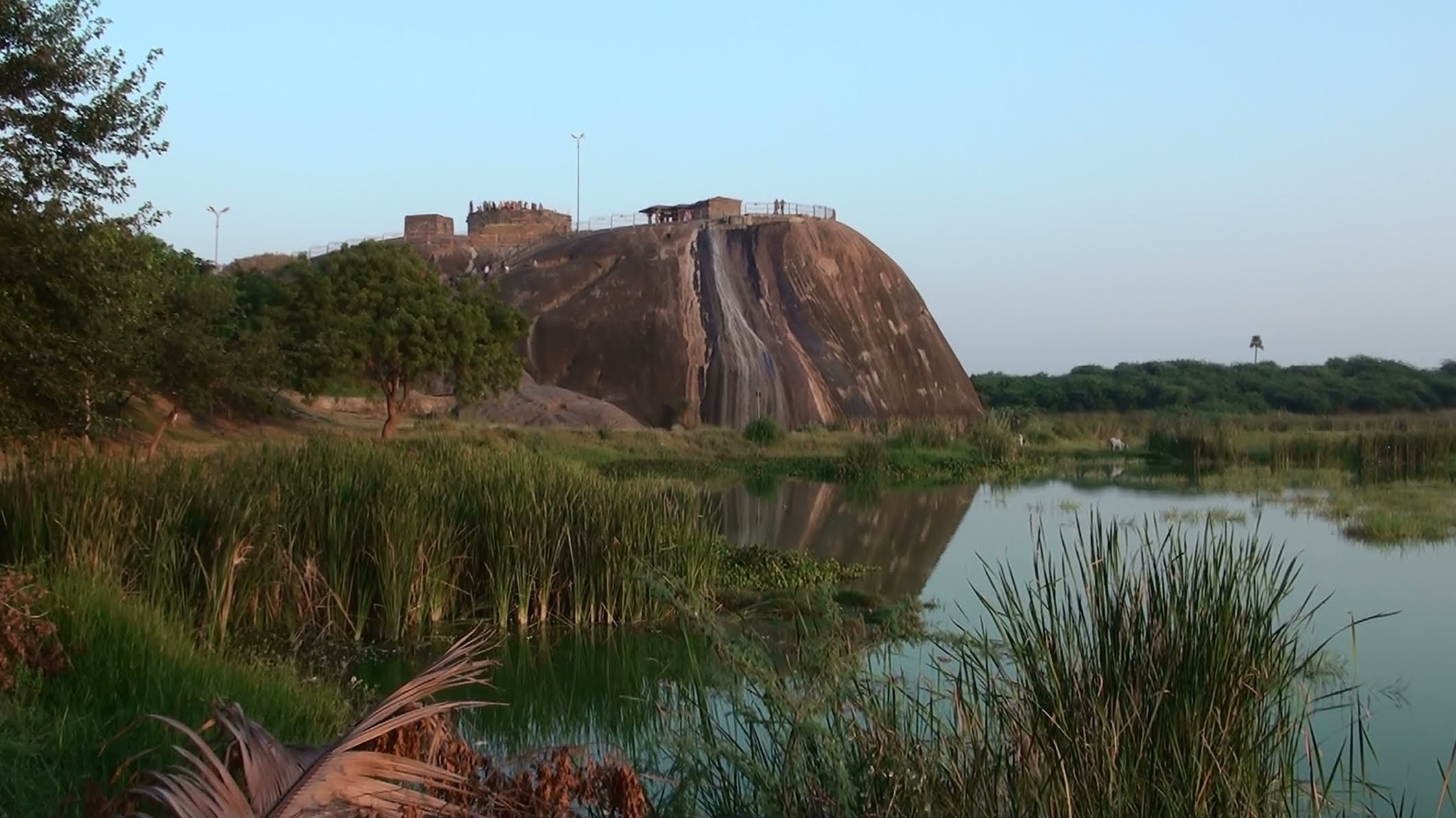 Famous Ekashila Hill that gave Warangal its name