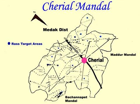 CHERIYAL MAP