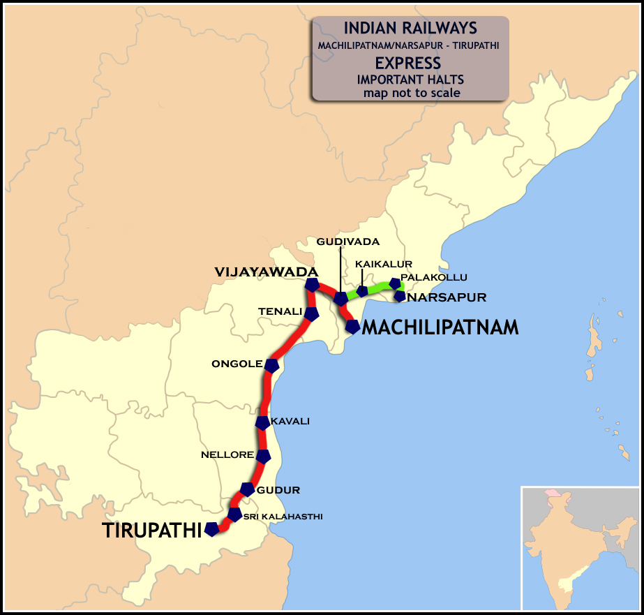machilipatnam_-_tirupathi_link_narsapur_-_tirupathi_express_route_map