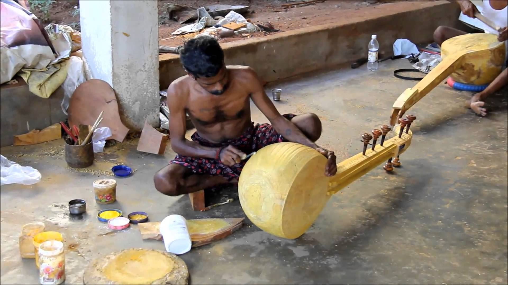 making-veena